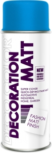 Decoration Matt niebieski RAL 5015 400 ml